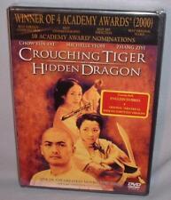 Dvd Crouching Tiger Hidden Dragon New Mint Sealed