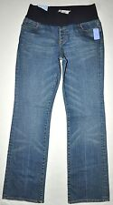 NEW Gap Maternity Women's City Fit Boot Cut Jeans Size 6 X 31.5 Stretch NWT $68