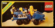 Lego 1558 - Mobile Command Trailer - 1986 Legoland Classic Space - Vintage Value