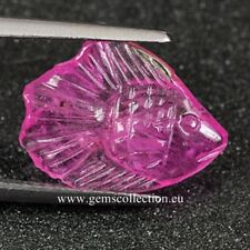 AAA RUBINO NATURALE - NATURAL RUBY CT 4.07 SI CARVING CUT  ORIGIN MADAGASCAR