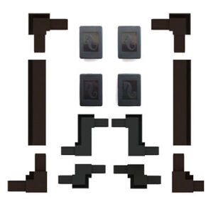 Red Sea DIY Tank Net Cover Spares - zigzag, cutout kit, hangers, net, spline