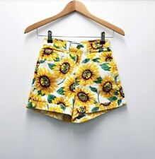 American Apparel Sunflower Denim Shorts Sz 8-10
