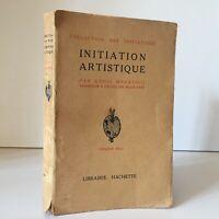 Initiation artistique Louis Hourticq Librairie Hachette s.d