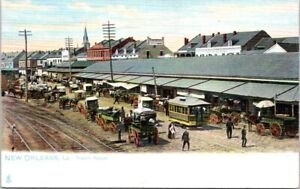 French Market, NEW ORLEANS Postcard - Raphael Tuck & Sons