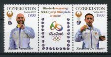 Uzbekistan 2017 MNH Rio 2016 Champions Medal Winners 2v Set Olympics Stamps