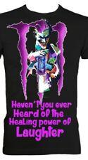 The joker Monster Energy Designed Heavyweight T-shirts! All Sizes in Black