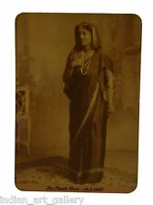 Vintage Collectible Postcard Indian Women Wearing Traditional Dress. i57-25 US