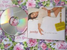 Jennifer Lopez If You Had My Love Columbia Records 667577 2  CD Single + Poster
