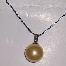 Freshwater Pearl & Sterling Silver NECKLACE....CREAM....Great Gift....NEW ITEM