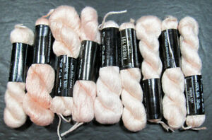9x Needlepoint/Embroidery THREAD PLANET EARTH Pepper Pot 1ply silk-pinks-IT67