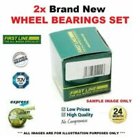 2x Rear WHEEL BEARINGS for IVECO DAILY Chassis 35C14 35C14 /P 35S14 2007-2011