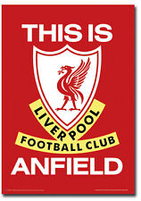 """This is Anfield Liverpool Football Club Logo Poster Fridge Magnet 2.5"""" x 3.5"""""""