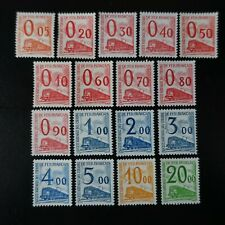 FRANCE TIMBRE PETITS COLIS POSTAUX N°31/47 NEUF ** LUXE MNH COTE 500€