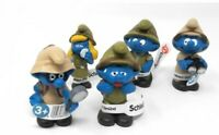 Schleich Peyo Smurf Set of 5 Figures Jungle Smurfs SCH1