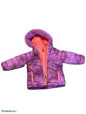 Snozu Fleece Lined Double Zip Down Fill Jacket 2T