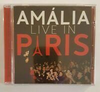 AMALIA RODRIGUES : LIVE in PARIS ♦ NEW CD NEUF + GROS LIVRET ♦