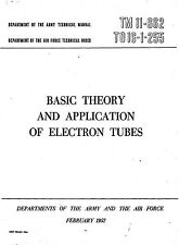 Basic Theory and Application of Electron Tubes (1952) - CD