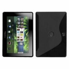 Black S Shape Candy Skin Case Cover For Blackberry Playbook