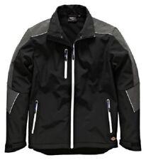 Dickies JW7009 Glenwood Black Grey Men's Waterproof Elastane Softshell Jacket
