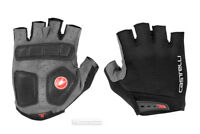 NEW 2019 Castelli ENTRATA Summer Cycling Gloves : BLACK