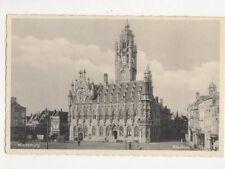 Middelburg Stadhuis Netherlands Vintage Postcard 446a