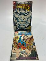 Power Of The Atom #1, August 1988 + The Adventures Of Superman #510 DC Comics