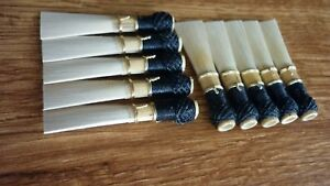 10 high quality bassoon reed blanks from Rieger cane -Fox2 /dukov_reeds RrF2/