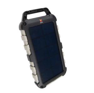 XTORM FS305 Solar Powerbank Schwarz 10.000 mAh Lithium-Polymer-Batterie