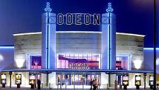 2 x Odeon cinema ticket Adult & kids All UK PREMIER SEATS