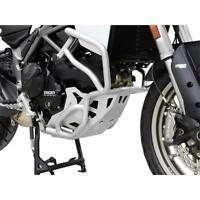 Ducati Multistrada 950 BJ 2017 Motorschutz Unterfahrschutz Bugspoiler silber