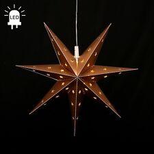 LED estrellas de Adviento Plegable Ø 45 exteriores navidad 7 Zack ORO 100223