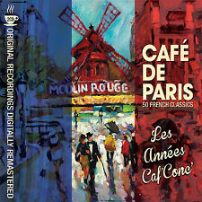 2 CD BOX CAFE DE PARIS LES ANNEES CAFE CONCERT MAYO GEORGIUS CHEVALIER BOYER ETC