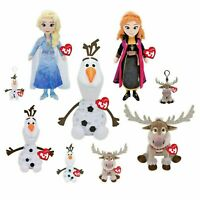 Disney Frozen 2: TY ELSA ANNA OLAF SVEN Clip Small Medium Large Plus- Brand NEW