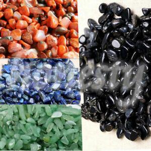 10/30g Natural Gravel Crystal Stone Rock Specimen Rough Polished For Fish Tank
