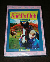 2001 The Saddle Club Season 1 DVD Lara Jean Marshall Keenan Macwilliam OOP RARE