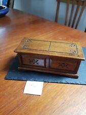 Vintage musical box
