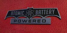CUSTOM ATOMIC BATTERY POWERED CAR EMBLEM BATMOBILE BATMAN 1966