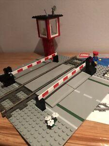 Lego City Bahnsteig Bahnübergang NEU aus Startpackung 60051
