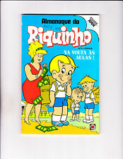 "Almanaque do Riquinho No 3 1979  -Brazilian Richie Rich -""Backpack /Cash Cover """