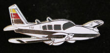 PIPER AZTEC LAPEL HAT PIN JEWELRY AIRPLANE PILOT CREW WING SOLO GIFT WOW