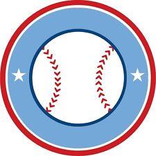30 Custom Baseball Banner Art Personalized Address Labels