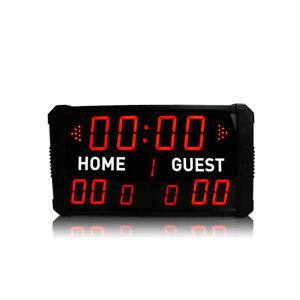 LED Scoreboard Digital Basketball Scoreboard Clock With Controller For All Sport