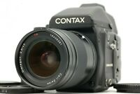 【EXC+++++】 Contax 645 w/ Carl Zeiss 45mm f2.8 Lens + 120/220 Film Back frm JAPAN