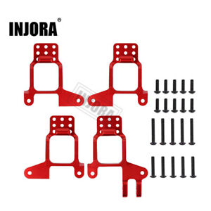 4x Aluminum Front & Rear Shock Tower Mount for 1/10 RC Crawler Traxxas TRX4 8216