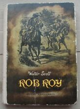 Rob Roy - Walter Scott (1968) Polish book illustrated Polska ksiazka ilustracje