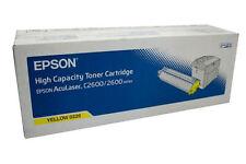TONER JAUNE EPSON  D'ORIGINE ACULASER C2600 0226  C13S050226