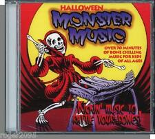halloween monster music new kids cd 20 fun songs