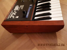 Wooden side panels for Roland JX-3P. Echtholz Seitenteile