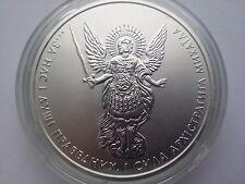 "Ukraine,One Hryvnya, ""Archangel Michael"" 1 oz 999,9 ,Silver 2011 year"