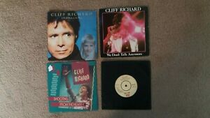 """Cliff Richard - 4 x 7"""" Singles - I Still Believe..,, Shooting From + 2 others"""
